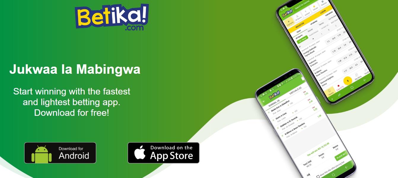 Betika mobile app